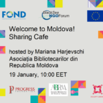 Welcome to Moldova! Sharing Café,  19th of January, 10:00 EET