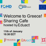 Recordings of Welcome to Greece! Sharing Café, hosted by Eduact